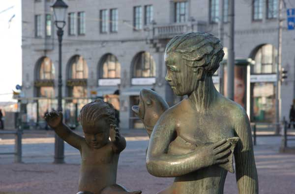 Mother and Child Bronze