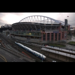 Seattle Train at Safeco Field