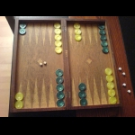 Backgammon doors