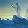 Nicholas Roerich (1874-1947) The Highest mountains stand as the witnesses of the Great Reality