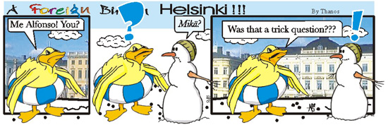 Foreign Bird in Helsinki #7