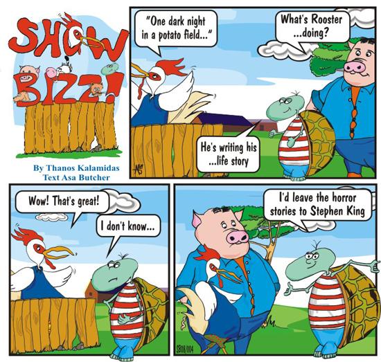 Ovi Cartoon