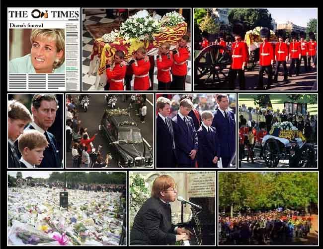 Ovi Magazine Diana S Funeral By The Ovi Team